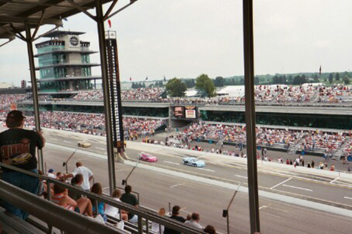 Nothin' manlier than a pink IROC car...