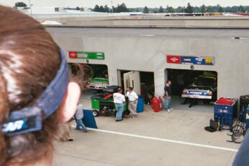 Yup, that's Chadwick under the car...